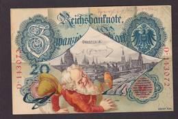 CPA Billet De Banque Banknote Circulé Chat Gnome Nain Allemagne Germany - Münzen (Abb.)