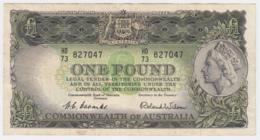 Australia 1 Pound 1953 - 1960 AVF Pick 30 - Pre-decimaal Stelsel Overheidsuitgave 1913-1965