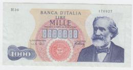 Italy 1000 Lire 1966 VF++ Verdi Pick 96c 96 C - [ 2] 1946-… : Républic