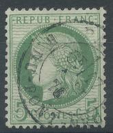 Lot N°52356  N°53, Oblit Cachet à Date De PARIS (R.du-Pont-Neuf) - 1871-1875 Cérès