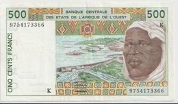 WEST AFRICAN STATES P. 710Kg 500 F 1997 VF - Senegal
