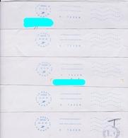 Lot De 15 Plis Avec Oblitération Neopost A TAXER - Mechanical Postmarks (Other)