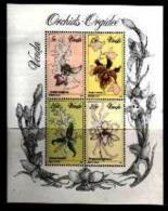 VENDA, 1981, MNH Stamp(s), Orchids,  Nr(s) 46-49ms (Block 1) - Venda