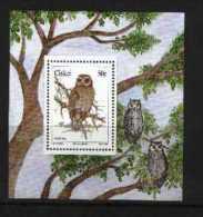 CISKEI, 1991, MNH Stamp(s), Owls, Nr(s).   186ms (Block 6) - Ciskei