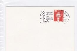 """""""BRD.Mi:848 Sonderstempel: 2950 Leer, Ostfriesland 1. Gallimarkt10.-14.84 + Galli Viehmarkt Am 10.10.84 - [7] Federal Republic"""