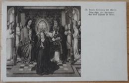 D. Bonts Krönung Der Maria Gemälde Galerie Der Akademie Der Bildenden Künste Wien Vienna - Malerei & Gemälde
