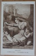 Raphael Sanzio La Vierge Au Voile The Madonna Of The Veil Musée Du Louvre - Malerei & Gemälde