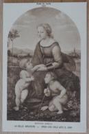 Raphael Sanzio La Belle Jardiniere Virgin And Child With St. John Musée Du Louvre - Malerei & Gemälde