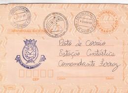 BRASIL - ENTIRE ENVELOPE CIRCULATED 1988 RIO DE JANEIRO TO COMANDANTE FERRAZ, ANTARCTICA. -LILHU - Postwaardestukken
