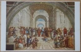 La Scuola D'atene Raffaello Sanzio Roma Vaticano Italy - Malerei & Gemälde