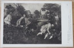 Pieter Brueghel Der Jüngere Fünf Blinde Von Einem Betrunkenen Geführt - Malerei & Gemälde