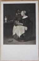 G. Metsu The Bone Lacemaker Die Spitzenklöpplerin - Malerei & Gemälde