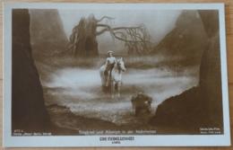 Die Nibelungen Verlag Ross Berlin Decla Ufa Film Siegfried Und Alberich In Der Nebelwiese Regie Fritz Lang - Kino & Film