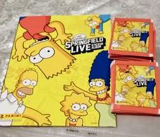 The SIMPSONS SPRINGFIELD Live Album Vuoto+50 Bustine Con Figurine Panini 2013 - Italian Edition