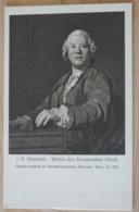 J. S. Duplessis Bildnis Des Komponisten Gluck Gemäldegalerie Im Kunstistorischen Museum Wien Vienna - Malerei & Gemälde