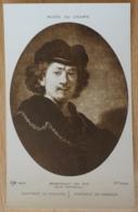 Rembrandt Van Ryn Portrait Du Peintre Portrait Of Himself Selbstbildnis Musée Du Louvre Paris - Malerei & Gemälde
