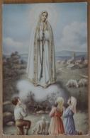 Maria Erscheinung Kinder Schafe Marienerscheinung Lourdes - Jungfräuliche Marie Und Madona