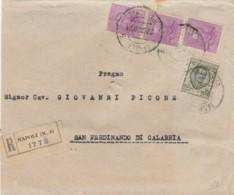 RACCOMANDATA 1928 3X50+25 C. TIMBRO NAPOLI (KX295 - 1900-44 Vittorio Emanuele III