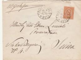 LETTERA 1891 C.20 TIMBRO COLE VAL D'ELSA  - SIENA (KX310 - 1878-00 Umberto I