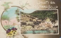 Campania  - Salerno  - Positano - Saluti Da Positano Bello  - Splendido Salutino - Italia