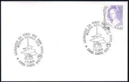Italia Italy (2019) Special Postmark: Cantù ; Leonardo Da Vinci (500th Anniversary Of Death) - Celebrità