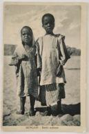 CARTOLINA 1941 BENGASI BAMBINI SUDANESI -COLONIE ITALIANE (KX480 - Libyen