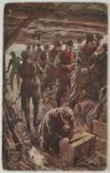 CARTOLINA NON VIAGGIATA SOLDATI MUTILATI IN GUERRA-NON PERFETTA (KX486 - Guerres - Autres