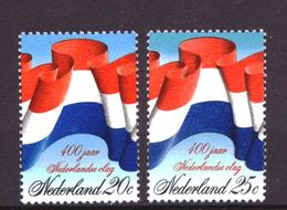 Nederland - Niederlande - Pays Bas NVPH 1010 & 1011 MNH ** (1972) - 1949-1980 (Juliana)
