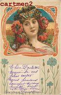 ART NOUVEAU  ILLUSTRATOR ILLUSTRATEUR 1900 FEMME STYLE MUCHA - Illustrateurs & Photographes