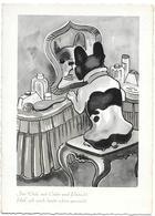 French Bulldog, Bouledogue Français, Französische Bulldogge, Dressing Table, Coiffeuse, Schminktisch, Modern Format - Cani