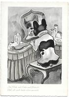 French Bulldog, Bouledogue Français, Französische Bulldogge, Dressing Table, Coiffeuse, Schminktisch, Modern Format - Perros