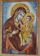 Muttergottes Mit Kind Icone Ikone Griechisch - Jungfräuliche Marie Und Madona