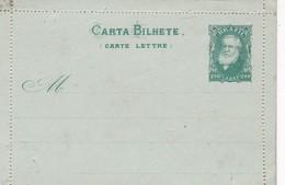 BRASIL - CARTA BILHETE 200 REIS. ENTER, ENTIRE POSTAL CARD NOT CIRCULATED -LILHU - Postwaardestukken