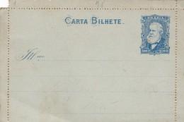 BRASIL - CARTA BILHETE 100 REIS. ENTERO, ENTIRE POSTAL CARD NOT CIRCULATED -LILHU - Postwaardestukken