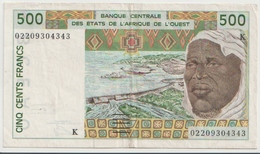 WEST AFRICAN STATES P. 710Km 500 F 2002 VF - Senegal