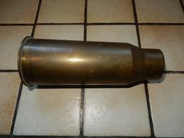 Douille Obus De 47 MM Mle 35 Percuté - Armes Neutralisées