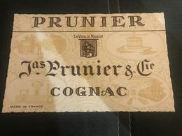 A BUVARD Ancien PRUNIER COGNAC - Blotters
