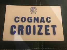 A BUVARD Ancien COGNAC CROIZET 1805 - Blotters