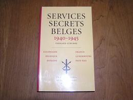 SERVICES SECRETS BELGES 1940 1945 Guerre 40 45 Résistance Armée Secrète Ligne Evasion Sabotage Réseau Comète Miranda AS - Guerre 1939-45
