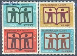 Bhutan 1972 Mi 510-513 MNH ( ZS8 BHT510-513 ) - Bhutan