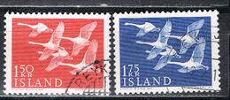 Island 312/313 Gestempelt - Norden 1956 - 1944-... Republique