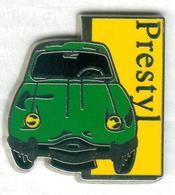 Pin's Voiture Automobile Prestyl Panhard Verte - Pin