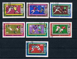 Mongolei Mi. 591 - 597 Fußball WM Mexiko 1970 - Futbol, Football, Calcio, Voetbal - Mongolei