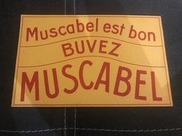 A BUVARD Ancien CHAMPAGNE ALCOOL MUSCABEL EST BON BUVEZ - Blotters