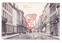 PK 3x Leuven - Stationstraat Met Paardentram 1903 / Oude Markt 1901 & 1917 Feldpost - Leuven