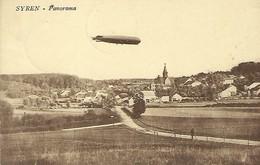 Luxembourg  -   Syren  -  Panorama  -  Zeppelin  -  Edit. Pierre Heuertz , Hassel - 2 Scans - Cartes Postales