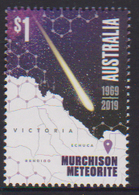 AUSTRALIA, 2019, MNH, SPACE,  METEORITES, MURCHISON METEORITE,1v - Space