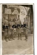 MONS  1940  MAGASIN LINGERIE SPECIALISTE DU BAS SOLDATS ALLEMANDS - Mons