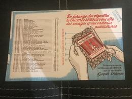 A BUVARD Ancien CHICORÉE LEROUX ORCHIES - Blotters