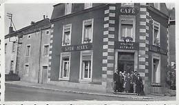 Luxembourg  -   Altwies  -  Station Café Kohn-Marx  -  Photo  110x70mm - Cartes Postales